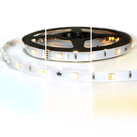 Dual White basic led strip per meter inclusief controller en voeding 1-10m