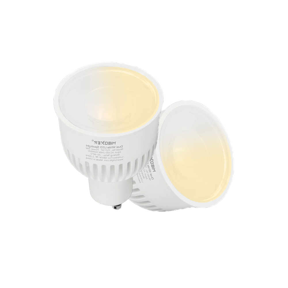 Milight led spot Dual White 5 Watt GU10 fitting