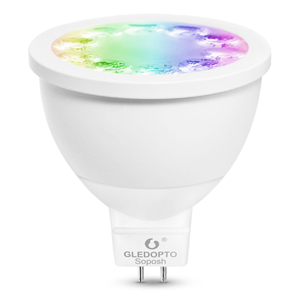 Hue compatible LED spot RGBWW MR16 fitting Zigbee - 4 Watt